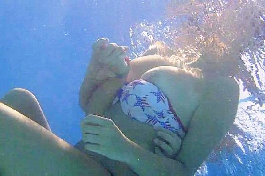 Bbw brother and sister swimming nude giving